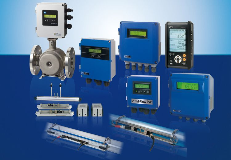 Ultrasonic air flow meter ideal for compressor control in